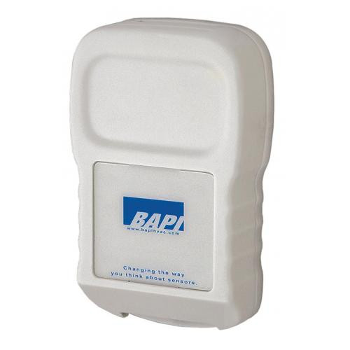 BAPI BA/BS2-WT Wireless Room Temperature Transmitter with Optional Humidity