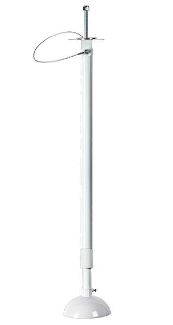 CE-CP12W, Clinton 6'-12' Telescoping Camera Pole (White) - Extra Shipping Charges Apply