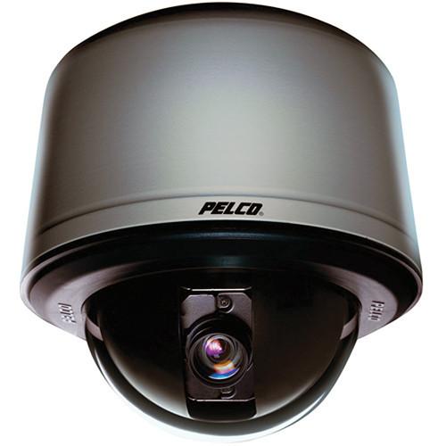 Pelco SD423-PG-1 Spectra IV SL Environmental Dome Camera, Pendant Mount, 23x Optical Zoom