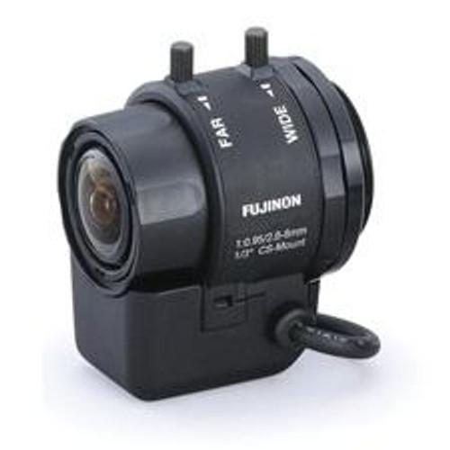 Fujinon CS Mount CCTV Lens, 2.8 - 8mm Auto Iris