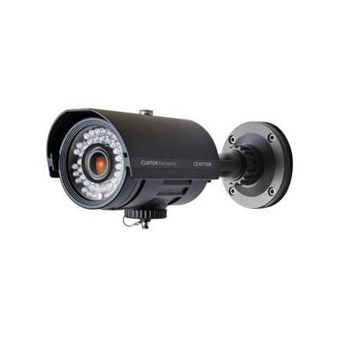 CE-VF775IR, Clinton Weather Rated Outdoor IR Bullet Camera (Black)