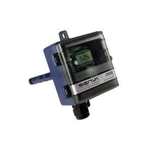 DUCT CO2 TRANS. W/RELAY & TEMP  WITH DISPLAY, MENU 20K