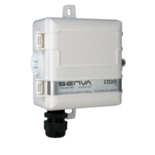 CO2O-A, Senva OUTSIDE CO2 TRANSMITTER/RELAY WITH DISPLAY AND MENU