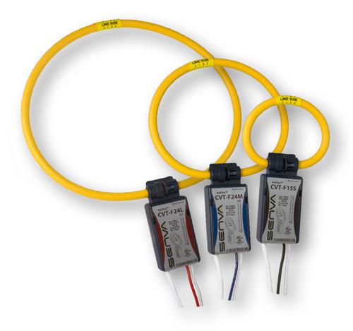 CVT-F15M-3PH, Senva Current/Voltage Transducer 1500A, 3 Ft leads, 3 Phase Kit
