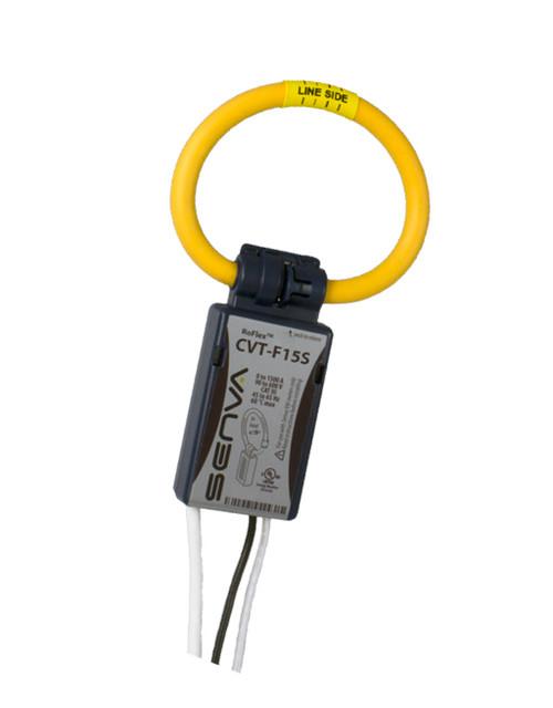 CVT-F24M-L06-C2, Senva Current/Voltage Transducer 2400A,  6 FT LEADS, RED