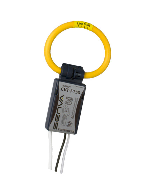Senva Current/Voltage Transducer 1500 A, 6 Ft Leads, Blue, CVT-F15S-L06-C6