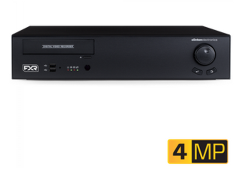 CE-FXR16/10TB, Clinton 16 CH 4MP EX-SDI 2.0 DVR
