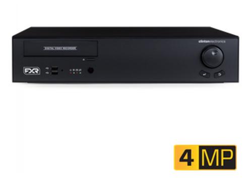 CE-FXR16/16TB, Clinton 16 CH 4MP EX-SDI 2.0 DVR