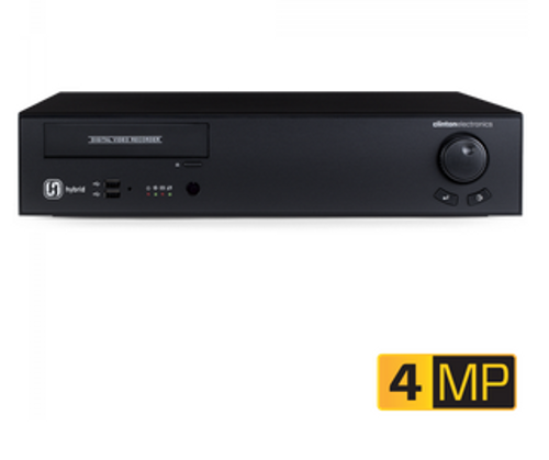 CE-HY16/20TB, Clinton 16 CH 4MP Hybrid DVR