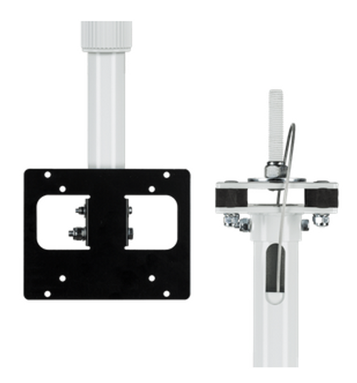 CE-CM-SX-3-B, Clinton 3′ Telescoping Ceiling Mount LCD/PVM Pole