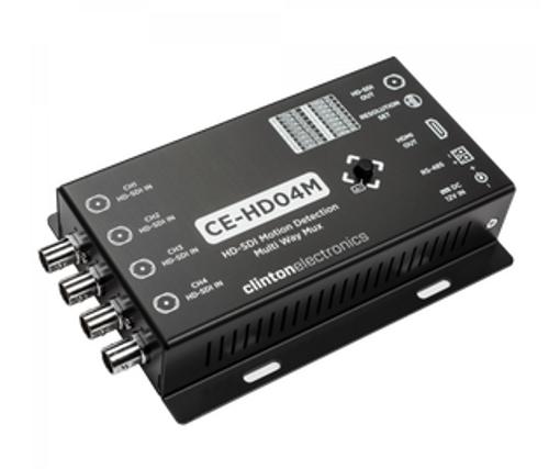 CE-HD04M, Clinton HD-SDI Motion Detection Multi-Way Mux