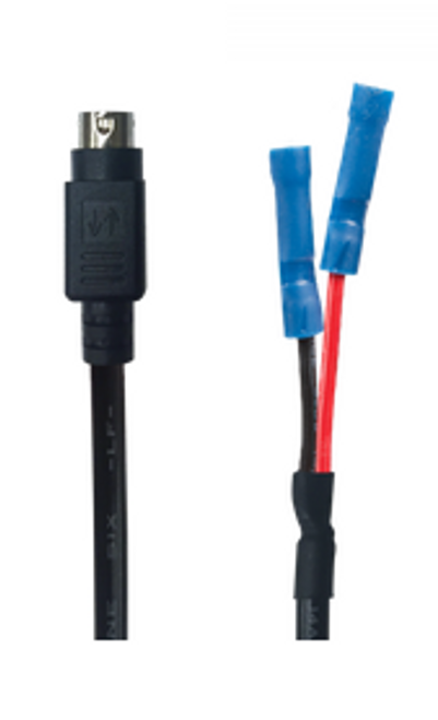 CE-24VDIN, Clinton 24 Volt 4-Pin DIN to Pigtail