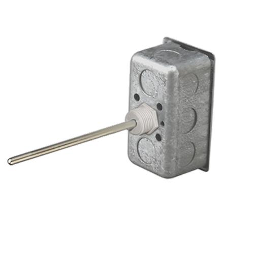 """BAPI BA/10K-2-I-4"""" Immersion Temperature Sensor, Plastic Fitting"""