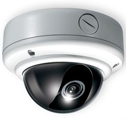 CE-VX40, Clinton Weather Rated Vandal X True Day/Night Dome Camera S6 DSP (White)