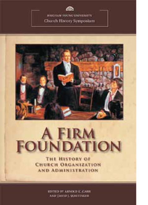 A Firm Foundation (Hardcover)