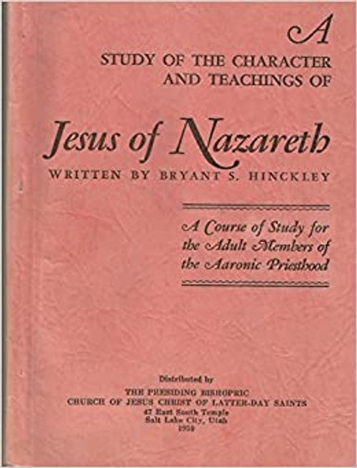 A Study of the Character and Teachings of Jesus of Nazareth (Paperback)