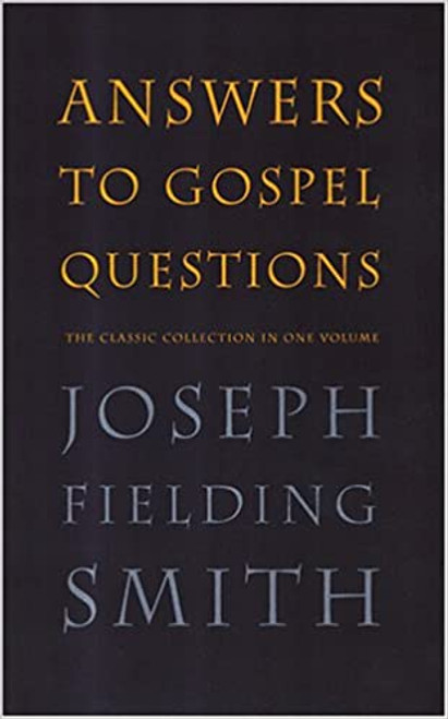 Answers to Gospel Questions All in One Volume (Hardcover)
