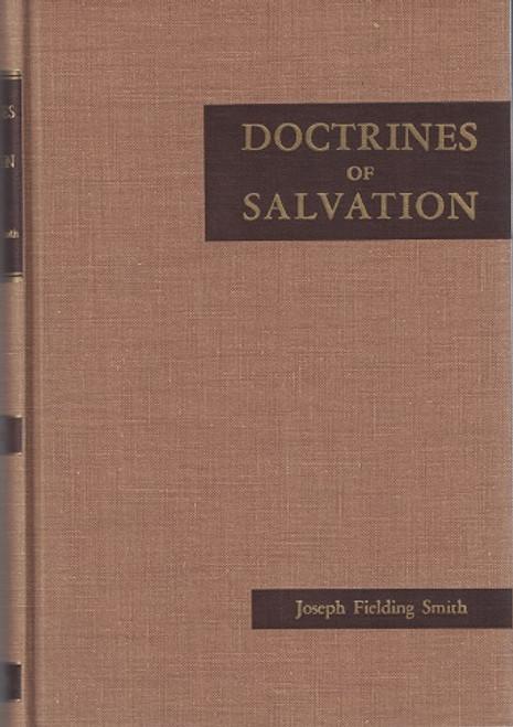 Doctrines of Salvation Volume 1 (Hardcover)