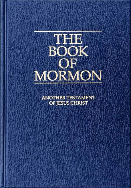 The Book of Mormon (Paperback) Missionary edition
