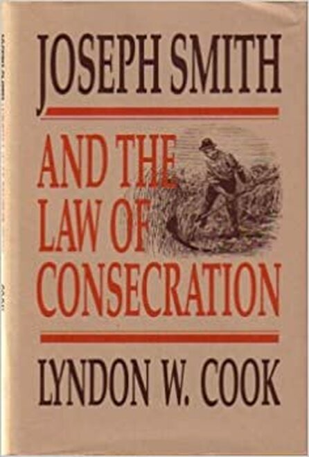 Joseph Smith and the Law of Consecration (Hardcover)
