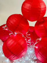 How to Decorate for Chinese New Year using Red Paper Hanging Lanterns