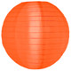 Buy Orange Nylon Hanging Lanterns Online