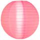 Pink Nylon Hanging Lantern