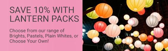 Paper Lantern packs