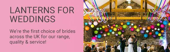Paper Lanterns for Weddings