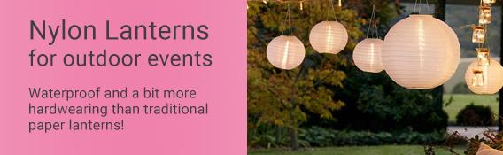 Nylon Outdoor Lanterns