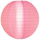 Rose Pink Outdoor Nylon Lanterns