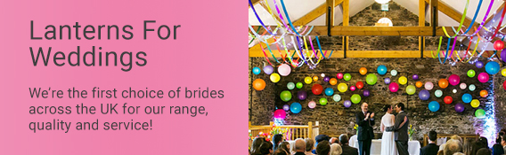 Paper Lanterns For Wedding