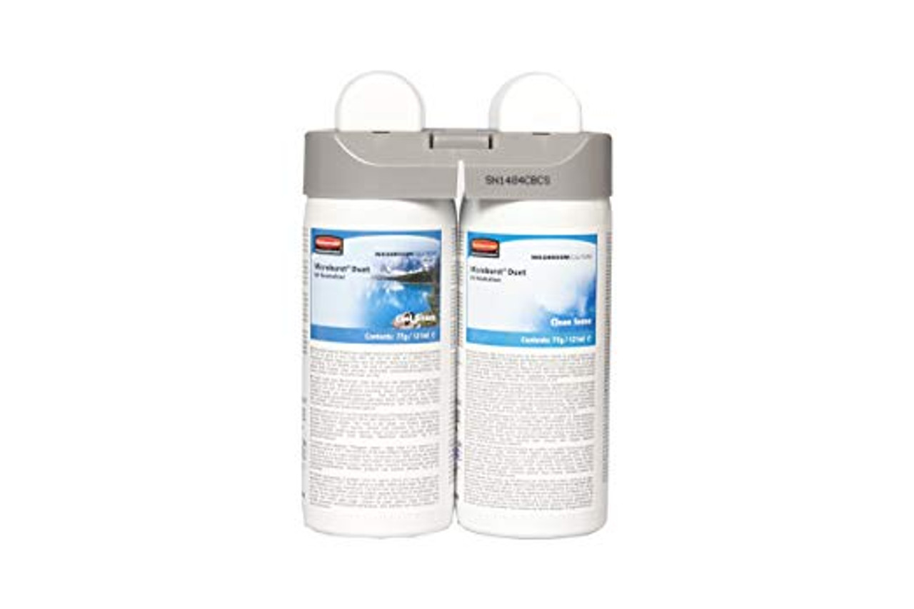 Rubbermaid Microburst Duet Clean Sense And Cool Breeze