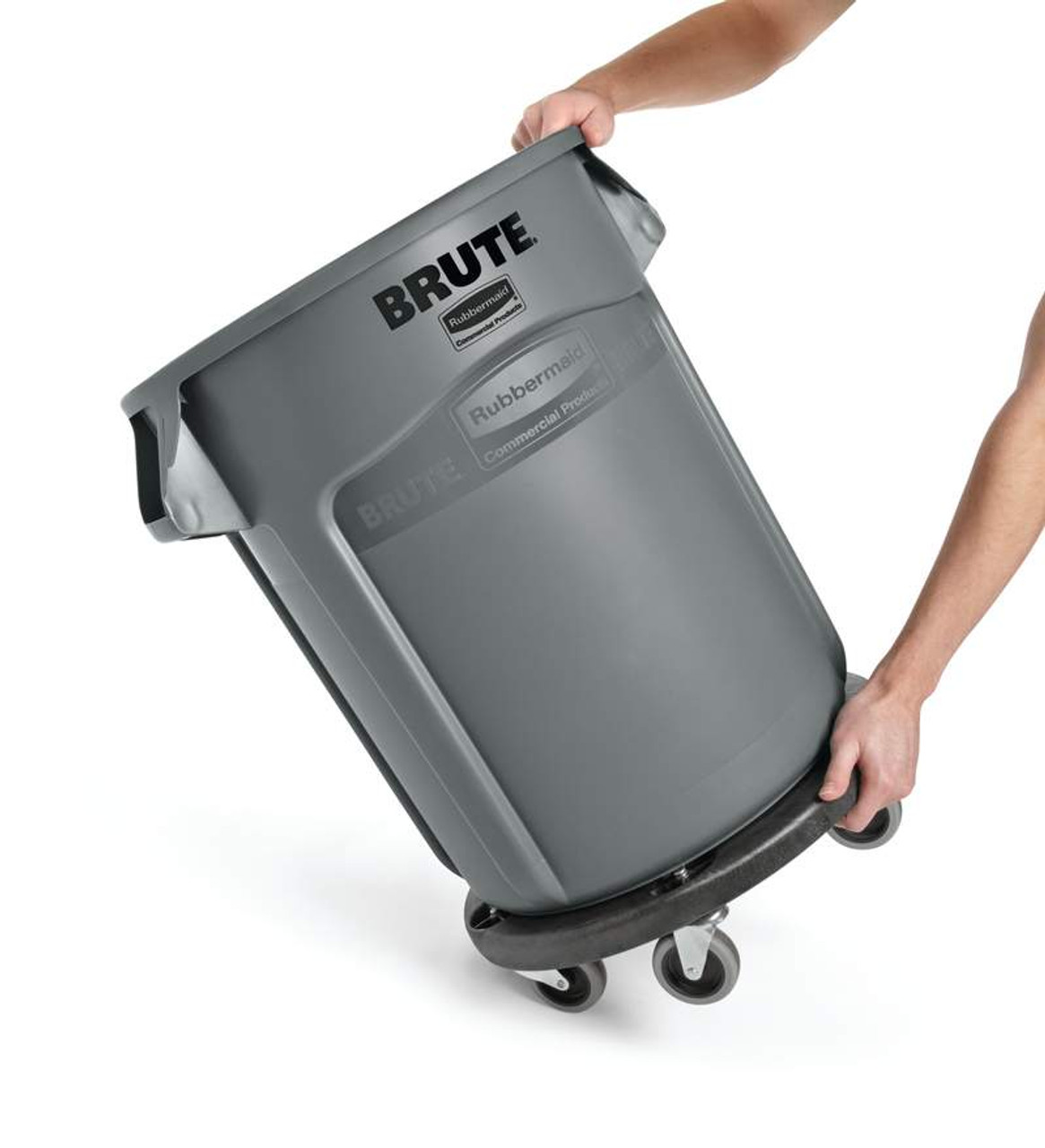 Rubbermaid Brute Container 75.7 L - Grey - FG262000GRAY