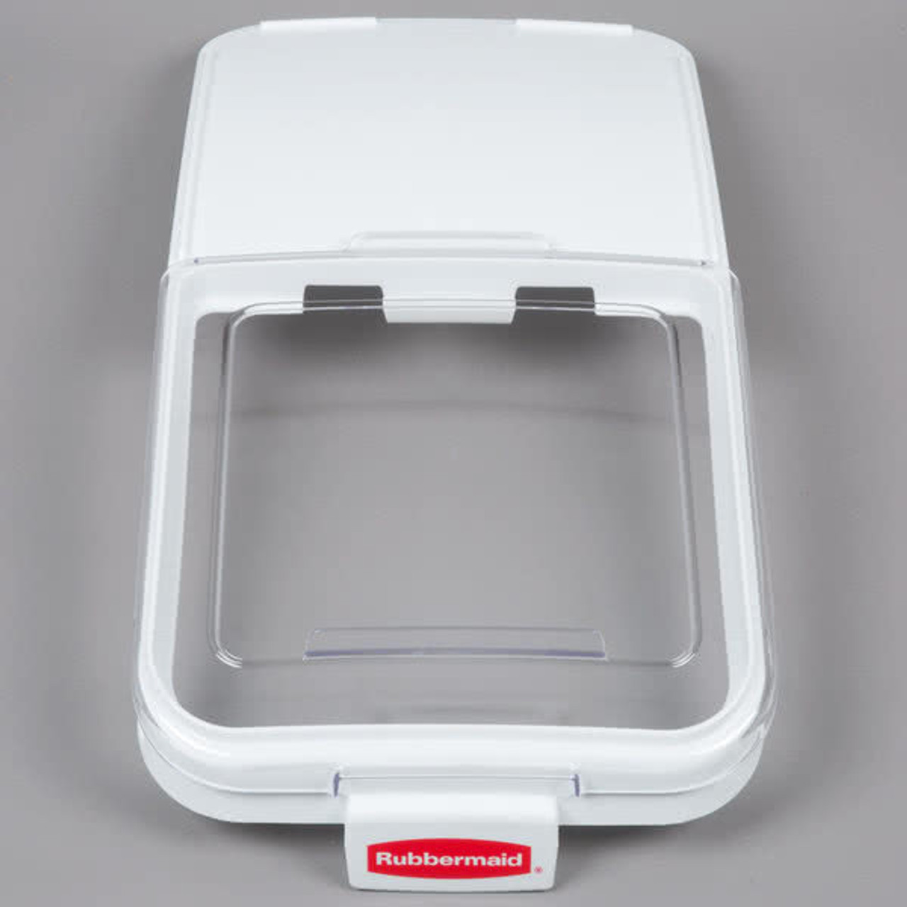 Rubbermaid Sliding Lid With 0.9 L Scoop For FG360288WHT Ingredient Bin