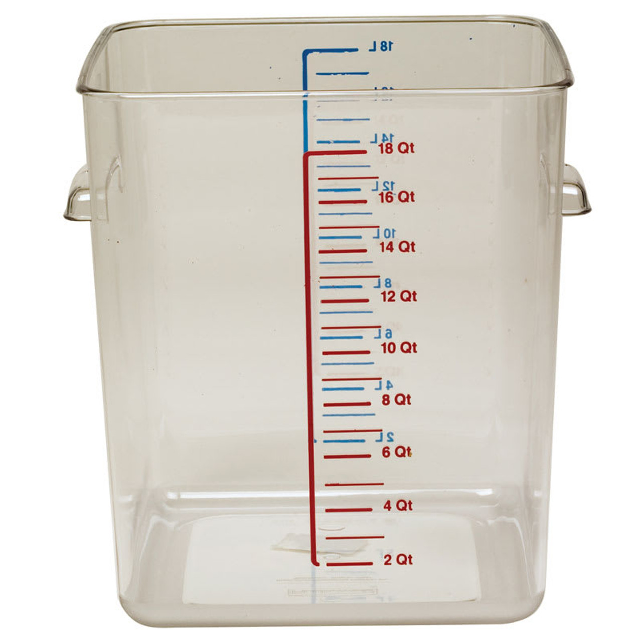 Rubbermaid Space Saving Container 17 L - Clear