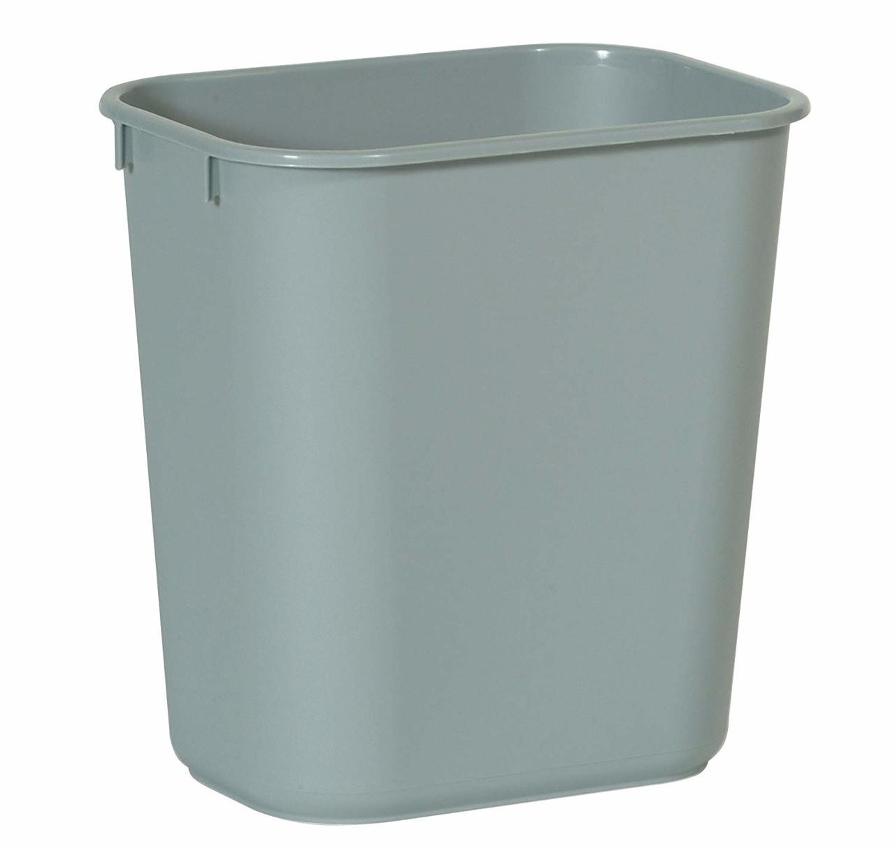 Rubbermaid Rectangular Wastebasket 12.9 L - Grey