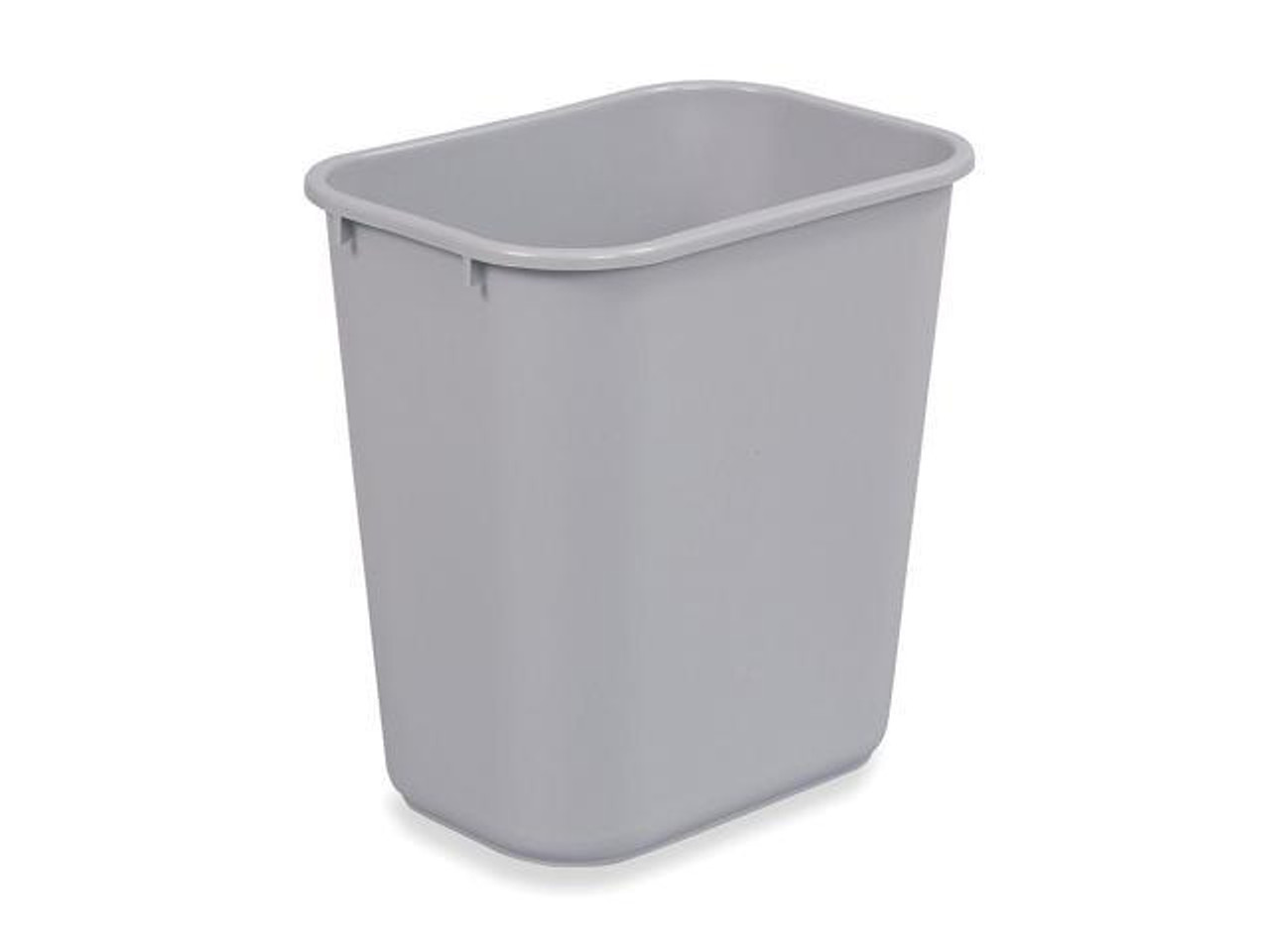 Rubbermaid Rectangular Wastebasket 26.6 L - Grey - FG295600GRAY