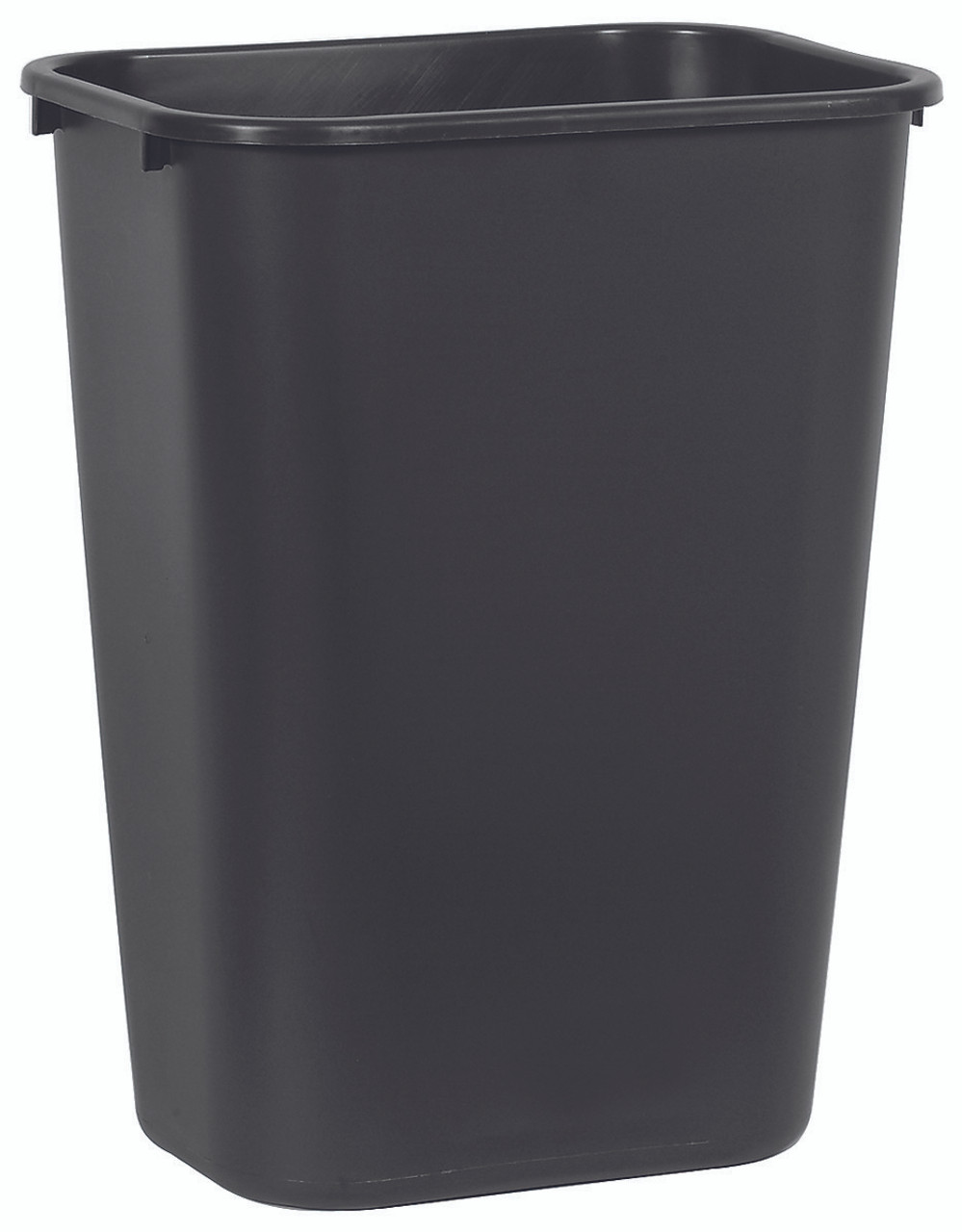 Rubbermaid Rectangular Wastebasket 39 L - Black - FG295700BLA