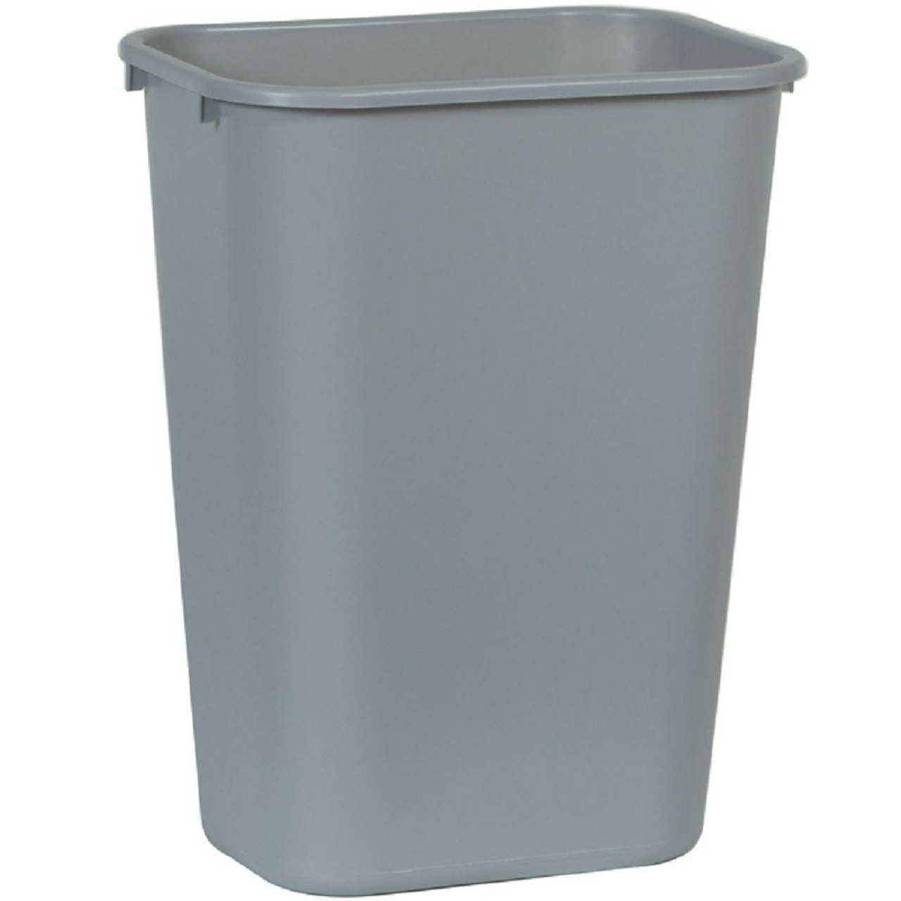 Rubbermaid Rectangular Wastebasket 39 L - Grey - FG295700GRAY