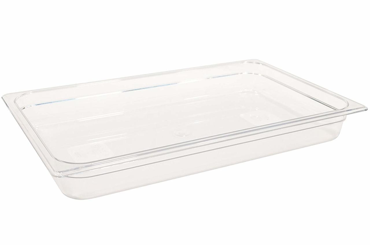 Rubbermaid Gastronorm Food Pan 1/1 65 mm - Clear - FG130P00CLR