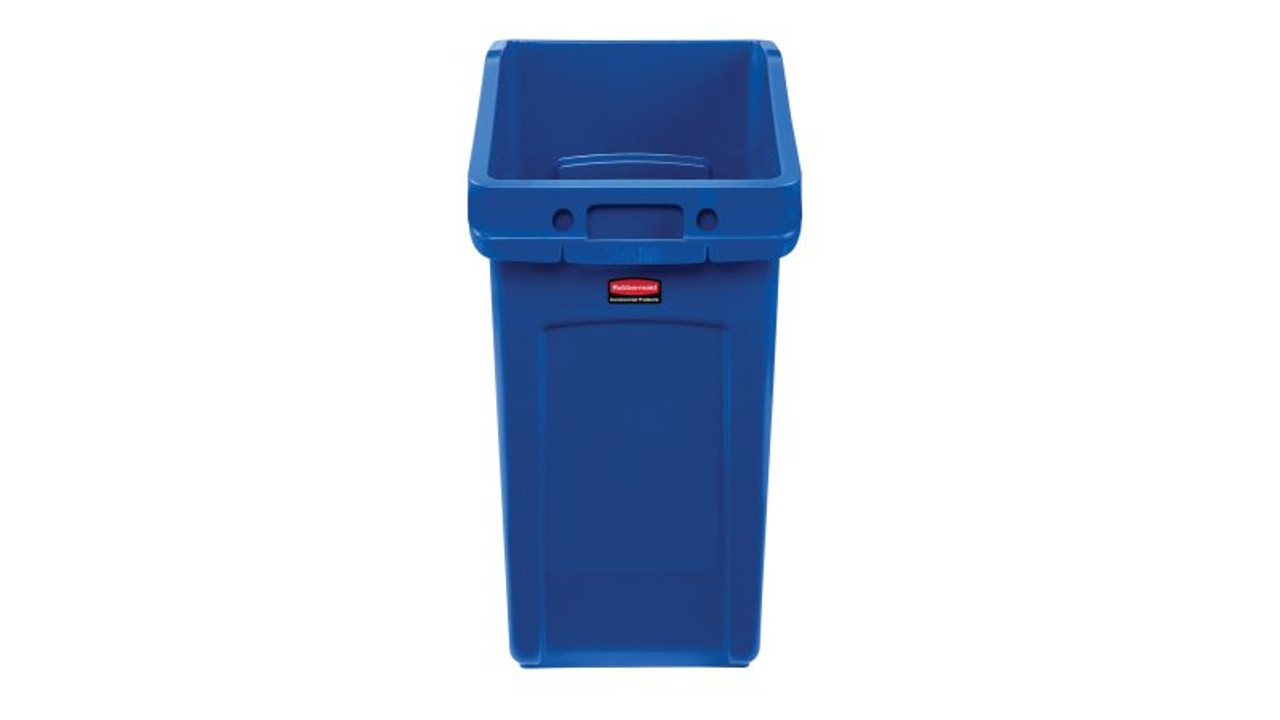 Rubbermaid Slim Jim Under Counter Container 87 L - Blue