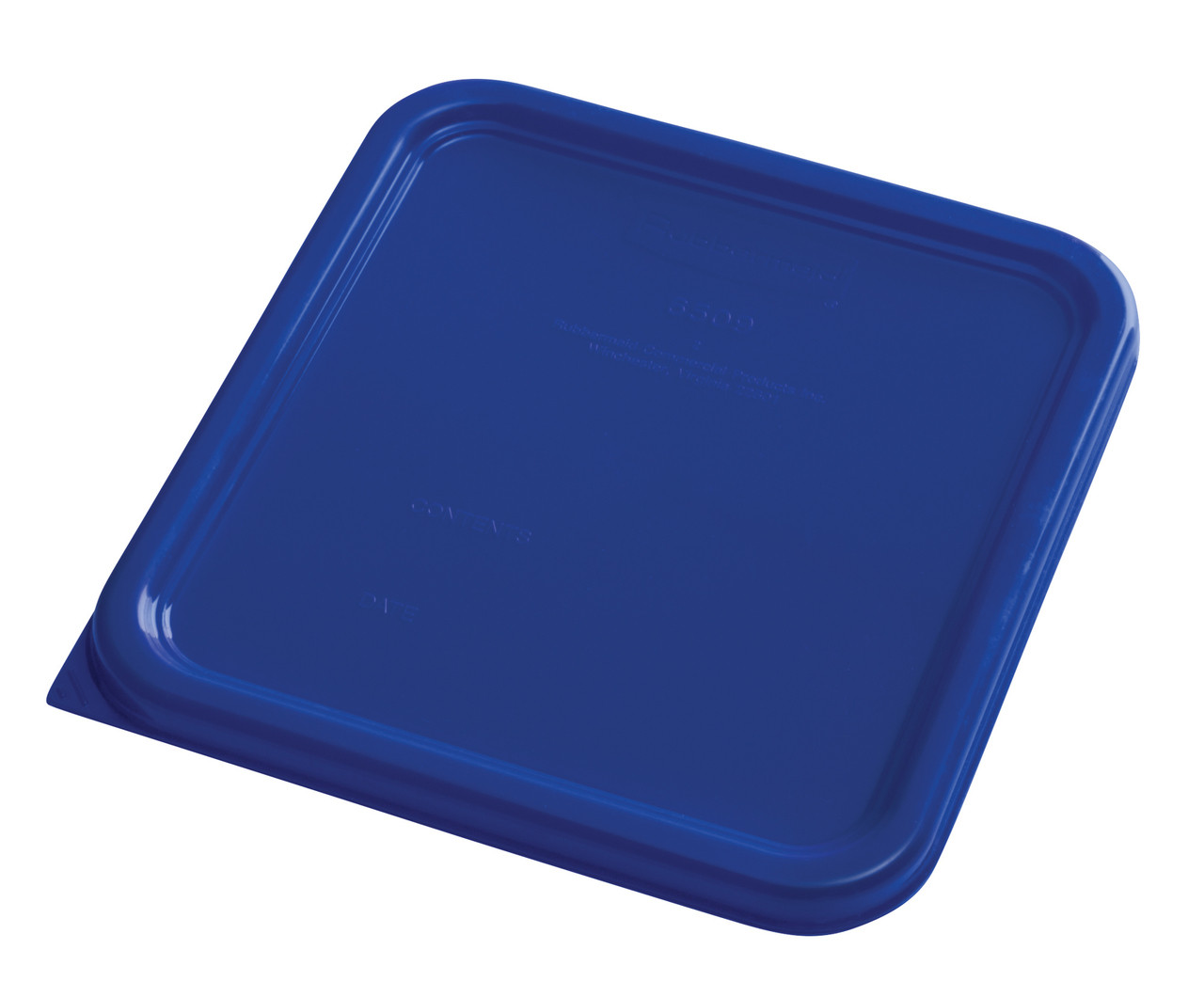 Rubbermaid Square Container Lid - Small Blue