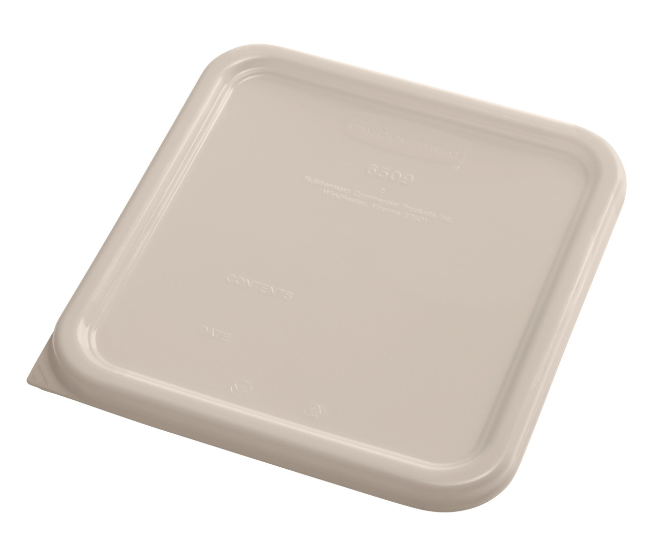 Rubbermaid Square Container Lid - Small Brown - 1980305