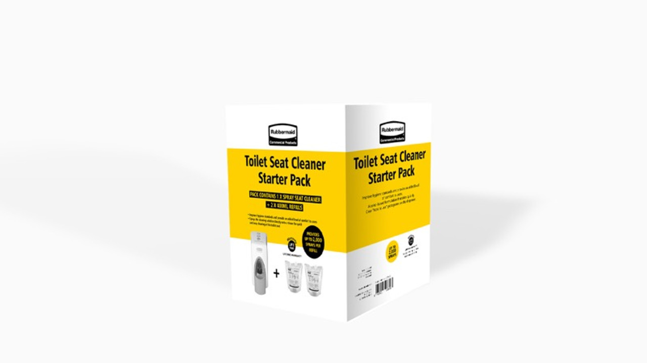 Rubbermaid Starter Pack Toilet Seat Cleaner (2127387)