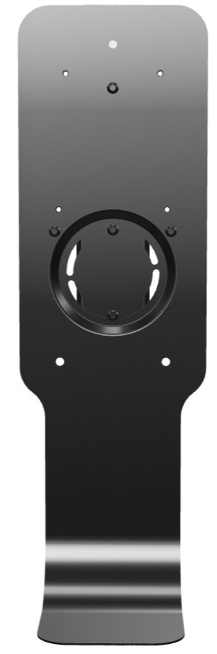 2143454 - Rubbermaid AutoFoam Stand Pole Mount Station - Black - Eliminates the Need to Drill Walls