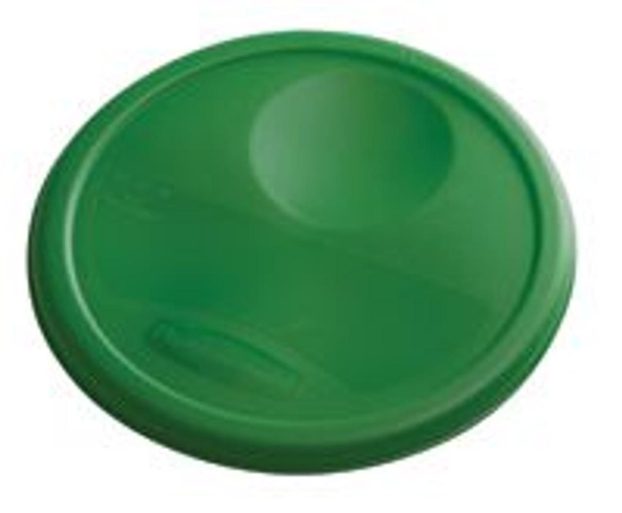 Rubbermaid Round Container Lid - Medium Green - 1980381