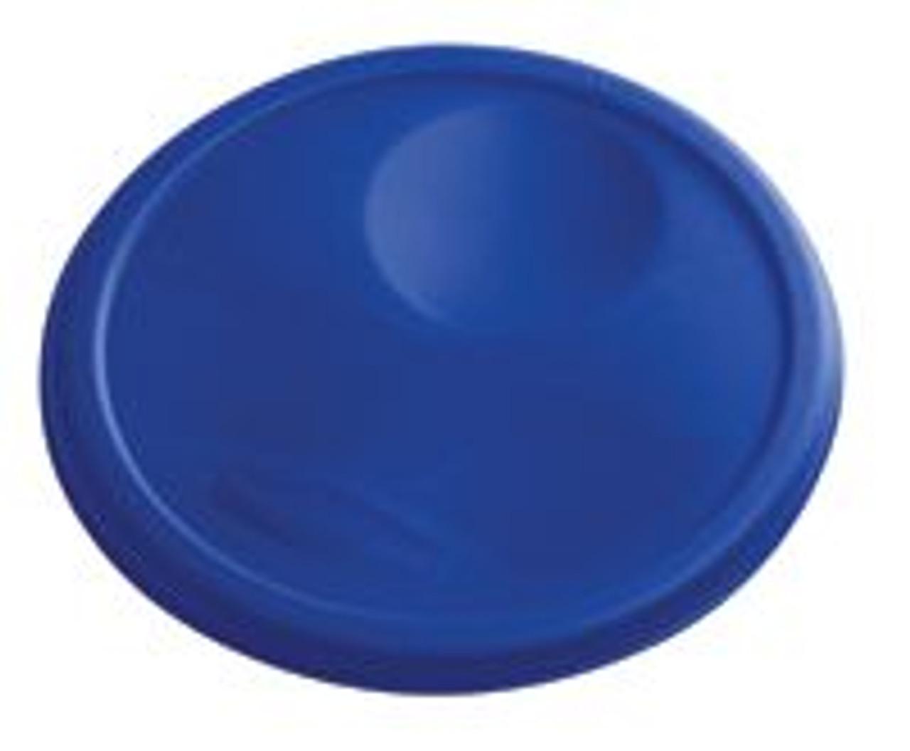 Rubbermaid Round Container Lid - Medium Blue - 1980382