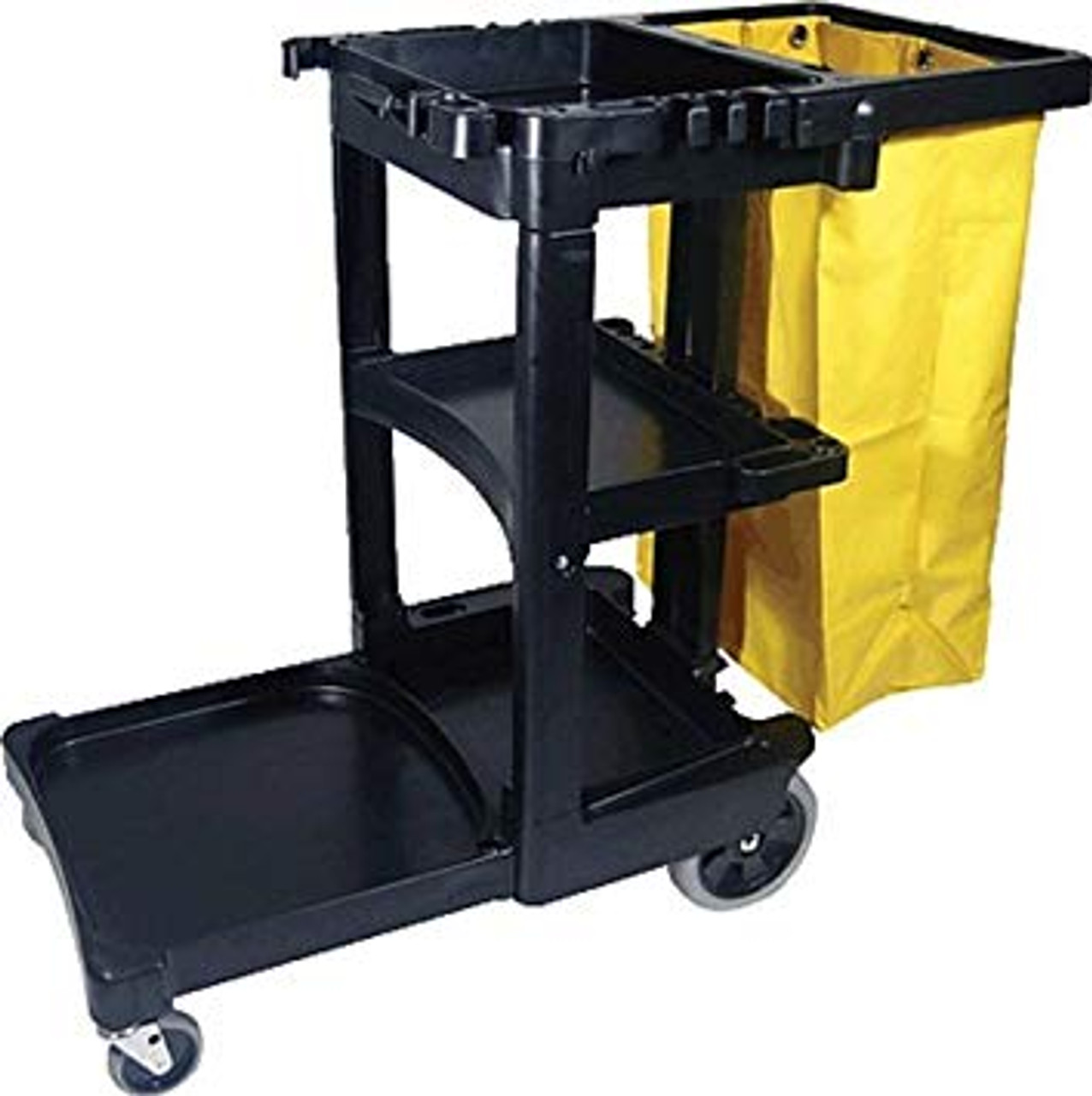 Rubbermaid Janitor Cart With Bag