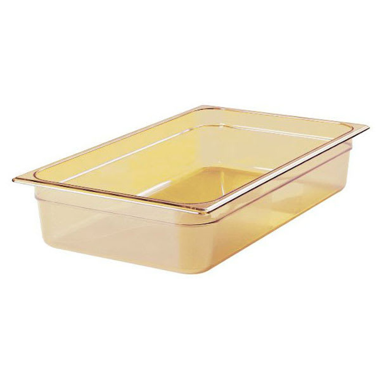 Rubbermaid Gastronorm Food Pan 1/1 100 mm - Amber - FG231P00AMBR